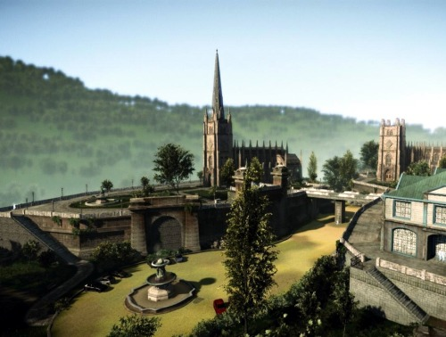 Church Compound is a custom multiplayer map that I designed and implemented for the video game 'Crysis 2' (PC). The purpose of creating this map was for me to expand my portfolio work and have a greater understanding of multiplayer map design for first person shooters. I designed the map to work with most of game types available for 'Crysis 2'.   The map is set up to divide groups of players and giving each team their own advantage when traversing the playable space. I've included multiple pathways around each main area so that the player has as much freedom as possible to tackle each multiplayer objective.   Due to the multi-layered design of the terrain I have included steps to each area of the map so that the player is encouraged to take alternative routes to objectives and areas; this gives a more dynamic feeling to the map as players take different approaches to an objective. I've attempted to cater to each play style to allow any player to feel comfortable playing the map; I have included sniper outposts, open direct routes for run and gun players, lots of vegetation and alternative paths for stealth players.   From designing this map I have a greater understanding of level layouts for first person shooter multiplayer maps, and  have learnt a lot about how to correctly set up a map to allow for different play styles and also balancing the map to not allow for an unfair advantage for each player. Also I have learnt how to correctly set up multiplayer objectives in CryEngine 3 along with player boundaries and environmental design to make a fun and engaging multiplayer experience.   The map is currently available to download now on CryDev.net:Download (2012)