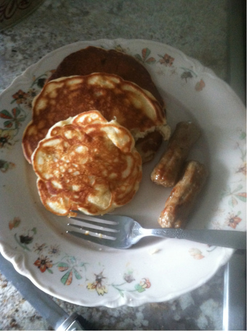 It's a pancake kind of morning!