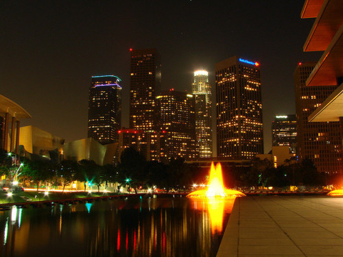 live-2-learn:  Los Angeles::Los Angeles Skyline @ Los Angeles DWP Headquarters by mike_s_etc on Flickr.