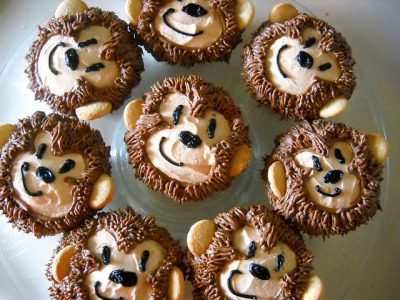 Monkey Cupcakes! by sam.is.rad on Flickr.