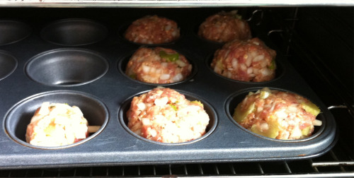 Nom nom nom.  I made some of these amazing Turkey Muffins this afternoon.  If you haven't seen the recipe, click the picture or THIS link to check it out! Original recipe of from BodyBuilding.com Give it a go! They remind me of rissoles back home in Oz :)