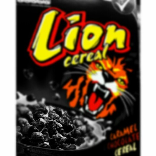 LION CEREAL!!!! | Kwyat #LION | #Cereal #Caramel #Chocolate #Candy #Sweet #Sugar #Breakfast #Eat #Hungry #Food #Foodporn #Delicious #Amazing #Nice #Igers #Love #Instagood #Igfood #Igers #Instagramhub #Picoftheday #Photooftheday #JJ #Instadaily #BestoftheDay #IgDaily #Webstagram #Instagramers #Follow (Taken with Instagram at London)