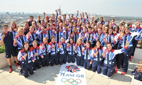 Team GB, you've been amazing. Now for the closing ceremony.  Photograph: Georgie Gillard/NOPP See you for the paralympics!