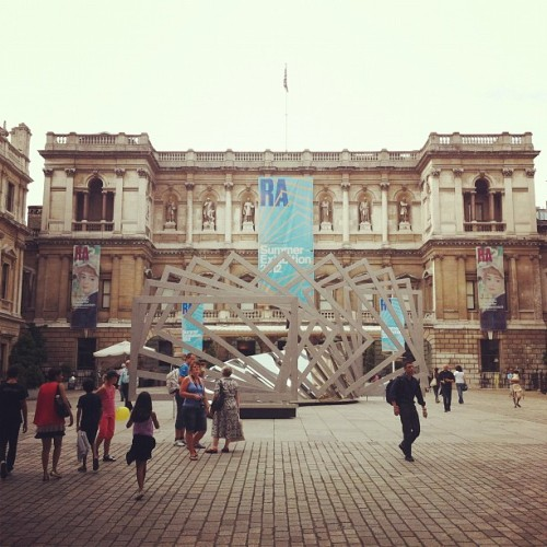 soupsoup:  Taken with Instagram at Royal Academy of Arts
