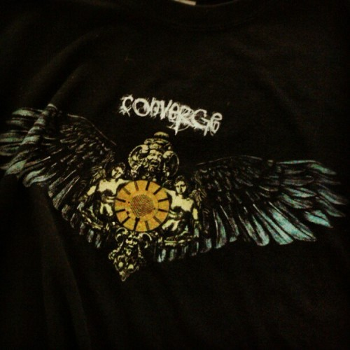 A super-old school size small #Converge shirt at Goodwill?  Freaking awesome. (Taken with Instagram)