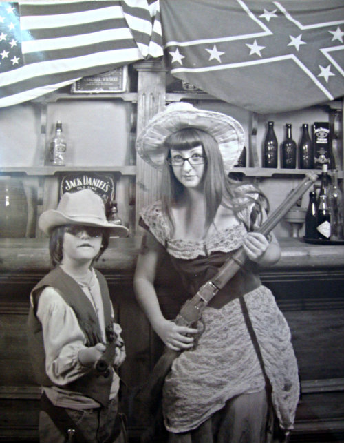 psychobillymassacre:  how my life should have been. me and my little brother ~ <3