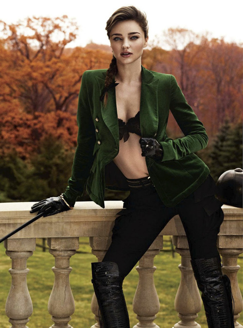 Miranda Kerr by Giampaolo Sgura for Harper's Bazaar UK, August 2012