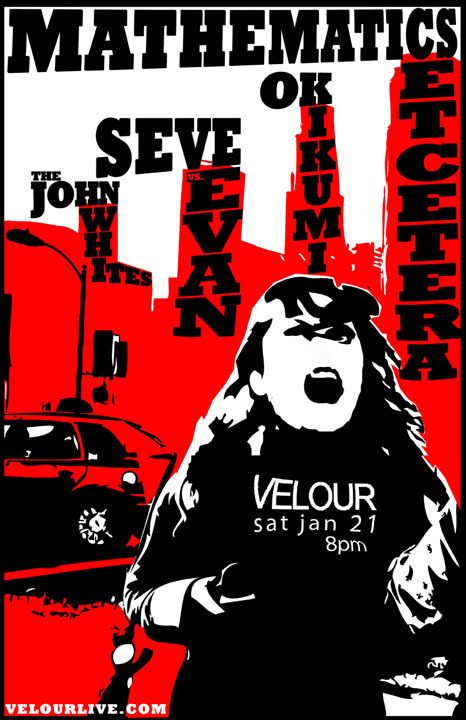 Mathematics Et Cetera, The John Whites, Seve vs. Evan, OK Ikumi 2006 (Velour)
