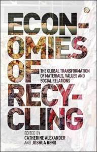 "From the book release: ""For some, recycling is a big business; for others a moralised way of engaging with the world. But, for many, this is a dangerous way of earning a living. With scrap now being the largest export category from the US to China, the sheer scale of this global trade has not yet been clearly identified or analysed. Combining fine-grained ethnographic analysis with overviews of international material flows, Economies of Recycling radically changes the way we understand global and local economies as well as the new social relations and identities created by recycling processes.   (via New Book- Economies of Recycling « Discard Studies)"
