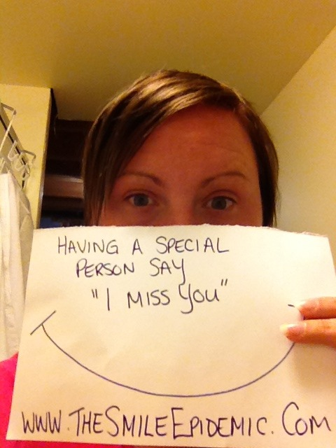 "Krista Day18: Having a special person say ""I Miss You"""