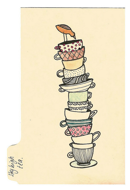 Sky high-tea by Maddie Joyce on Flickr.