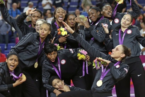 geekscoutcookies:  smidgetz:  Congrats to the USA Women's Basketball Team on their Gold win. This is their SEVENTH consecutive win in the Olympics.   The most won by a women's team.Ever.In ANY sport.