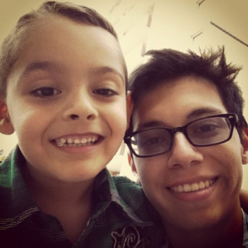 I love my nephew #family (Taken with Instagram)
