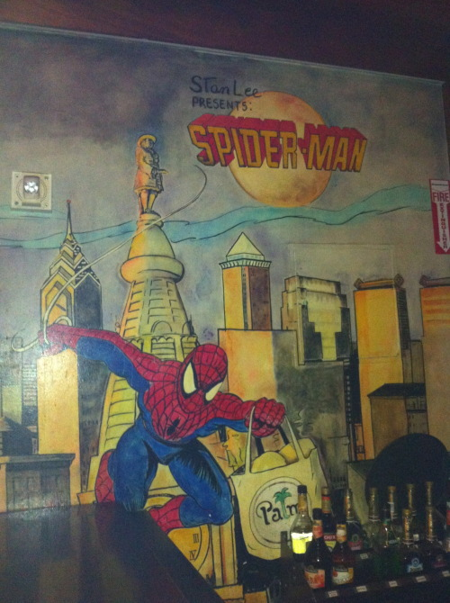 paulftompkins:  Remember that issue of Spider-Man where Spider-Man traveled from New York to Philadelphia to get a bag of food from The Palm restaurant and while he was gone, Doctor Octopus murdered forty people?