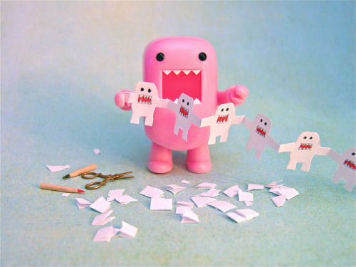 chocolate-truffles:  Domo paper dolls by Hitty Evie on Flickr.