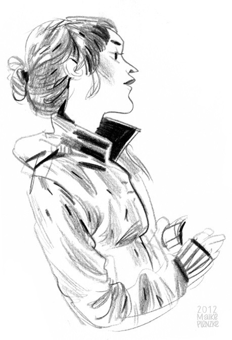 maikeplenzke:  Just a cafè sketch before I post a big piece tomorrow…