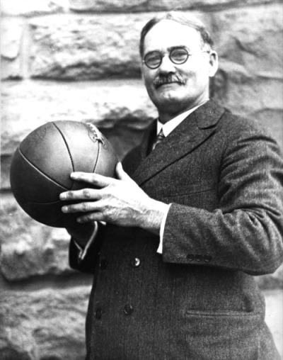 James Naismith, the inventor of basketball.