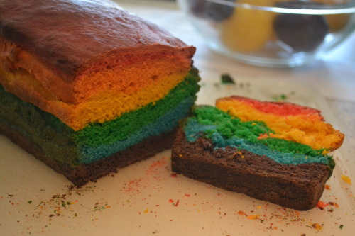 Me and my best friend made Rainbow Bread! ♥