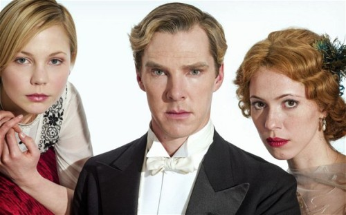 "The BBC's new adaptation of Ford Madox Ford's Parade's End is written by Tom Stoppard, stars Benedict Cumberbatch, and will air in the States on HBO. Like Downton Abbey, it's an Edwardian drama, but it's being pitched as a more nuanced and realistic rendition of the era. Benji Wilson's UK Times story has many more details and includes this Cumberbatch dis:   Benedict Cumberbatch, who stars in Parade's End as Christopher Tietjens, the last of the old Tories, describes Downton as ""comfortable Sunday-night viewing, but a period soap opera, rather than being true to an era"". Contrast that, he says, with Parade's End: ""You rarely see a piece about this class of people that is this accurate, this funny, pointed but also three-dimensional. We're not serving purposes to make some clichéd comment about, 'Oh, isn't it awful the way there's this upstairs-downstairs divide.' It's a little bit more sophisticated."" You probably noted the whiff of disdain there, one that is rather apt for the period, in fact. Parade's End seems almost to be taunting Downton with its credentials. Where ITV has Julian Fellowes as its writer, the BBC will raise you Tom Stoppard. Where ITV has the American public-service broadcaster WGBH as a production partner, the BBC has joined forces with HBO…. If Downton Abbey is essentially a dressed-up soap, Parade's End is borderline donnish in its complexity. You can start with the source material — Ford's novels are not exactly airport reads. This is a television series drawn from a stack of experimental modernist doorstops. The adap­tation follows the source material in spirit, but not ­chronology. This is because, at times, there is no chronology….  (Subscription required; thanks, Emma.) See also Alex Chee on Downton Abbey, in ""Parvenucracy,"" and my correspondence with him about Ford Madox Ford, Jean Rhys, and the novels they wrote after their affair ended."