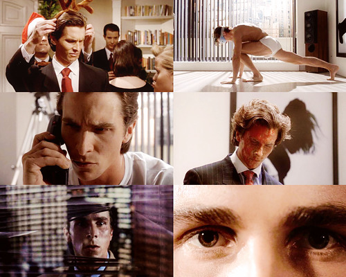 [?] - Favorite male performance(s) → Christian Bale as Patrick Bateman | American Psycho [4/5]