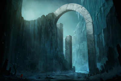 """The Frost Valley"" Ilustración por Blinck"