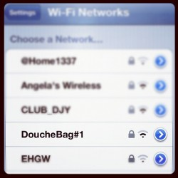 #wifi #funny #douchebag #newyork #newyorkcity  (Taken with Instagram)