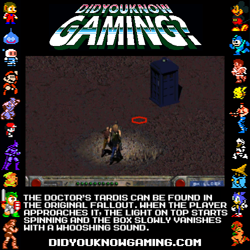didyouknowgaming:  Fallout. Submitted by Kyle Hendricks.