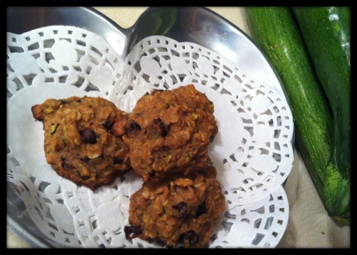 (Click here for recipe Zucchini Carob Chip Cookies)