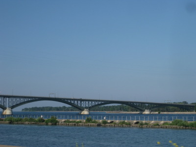 Bridge near Buffalo, NY