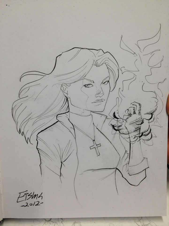 Liz from BPRD from Space City Con