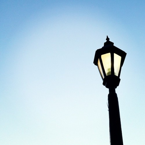 Let your light shine. #lamp #light #lightpost #lantern #minimal #minimalism #minimalist #iphone #iphoneonly #nofilter (Taken with Instagram)