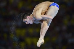 David Boudia Olympic Gold Medallist Mens 10m Platform London 2012