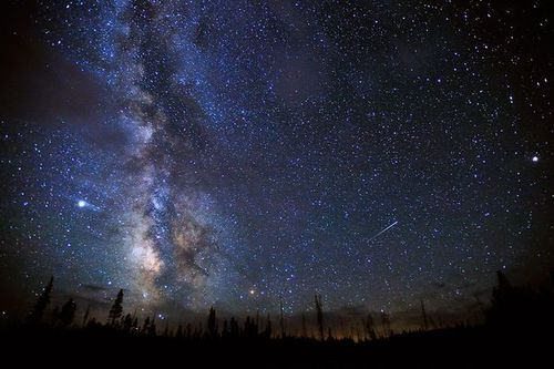 Meteor shower forecast for this weekend, staying up tonight in the hope it is not too cloudy to see something spectacular :)