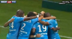 Brilliant goal by Cheyrou and 1-0 for Marseille!