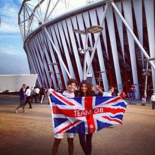 Elounor at the Olympics