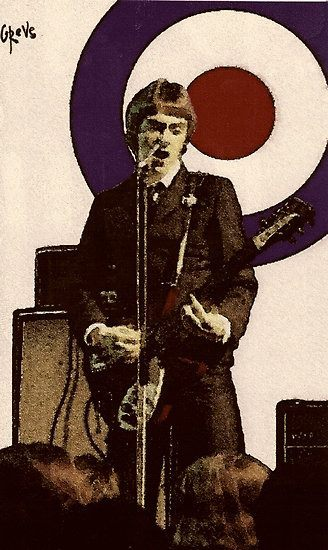 modrules:  Paul Weller, The jam