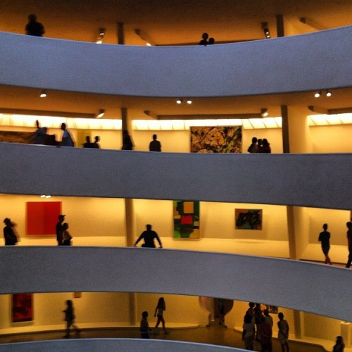 #NoPictures #Guggenheim #NYC #art  (Taken with Instagram)
