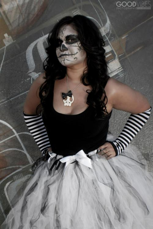 Day of the Dead - Bridal Tutu $35 on etsy: https://www.etsy.com/listing/65942244/cute-wedding-bridal-tutu-white-with