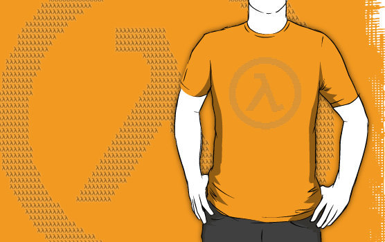 THE HALF LIFE LAMBDA! made with.. LAMDAS! Lamdaception.. Pick it up here! :) yes.. im making these xD