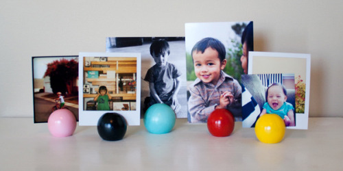 Craft It: Photo Display Balls by She Knows Living