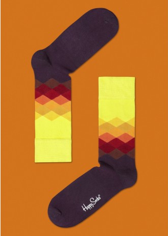 Happy Socks AW12 Faded diamond design. Because new socks really do make me happy.  www.happysocks.com