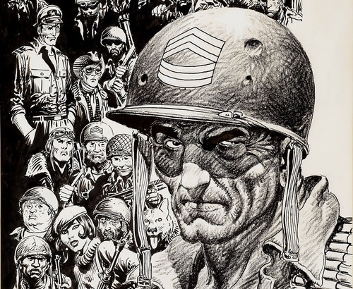 arcaneimages:  RIP Joe Kubert. So sad. He never lost a step. I thought we'd have him forever.