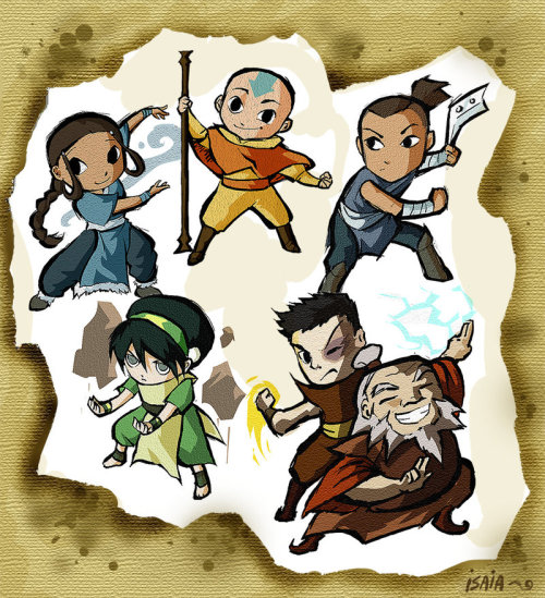 thelegendofthelastairbender:  Wind Waker Avatar by ~Isaia