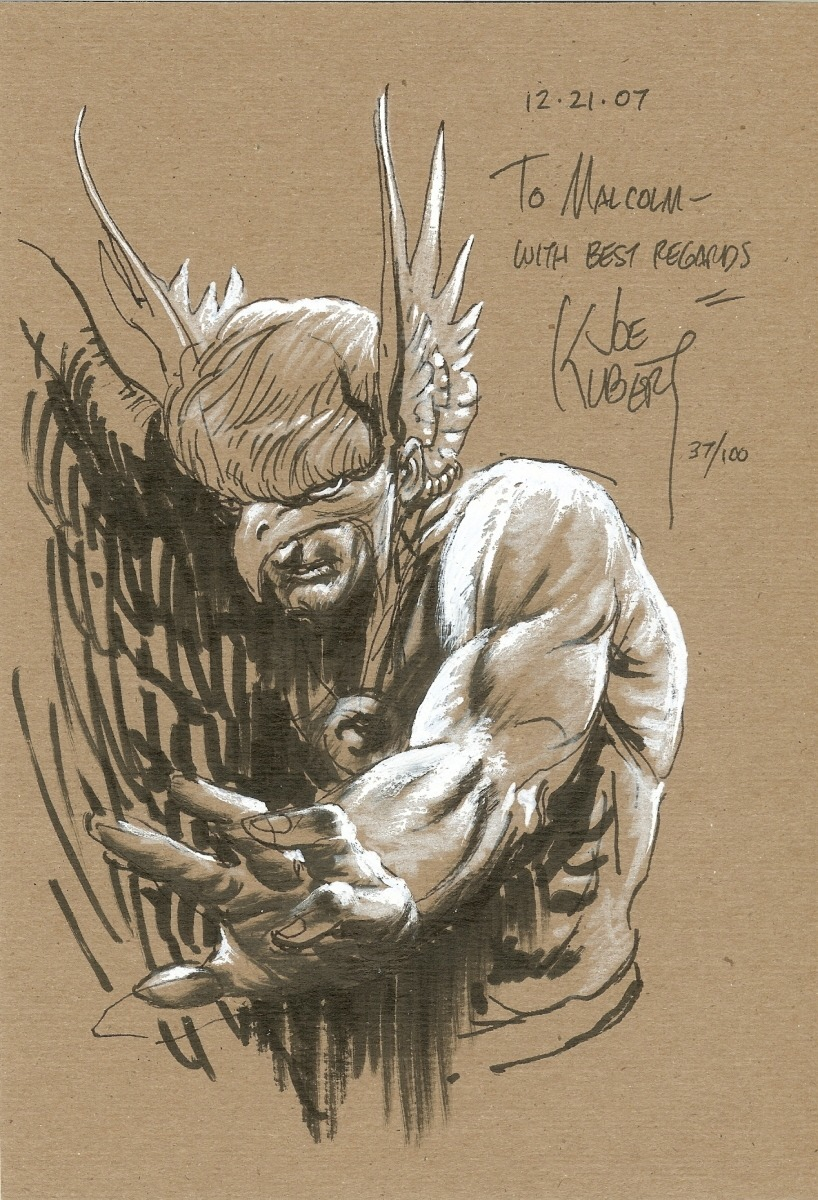 Hawkman by the late Joe Kubert