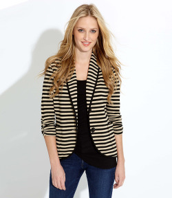 wantering:  Karen Kane Shawl Collar Jacket