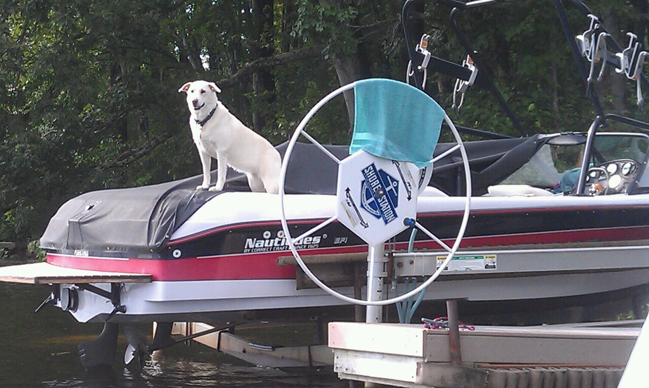 Hey dad, let's go wakeboarding!!
