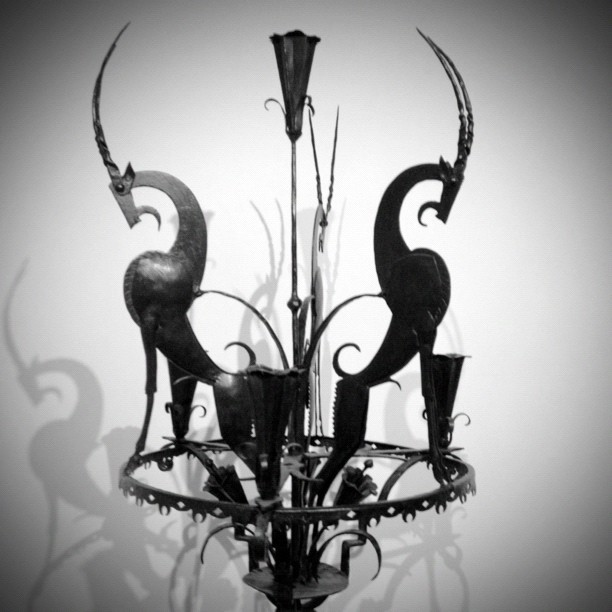 Candelabra (Taken with Instagram at Wolfsonian Museum)