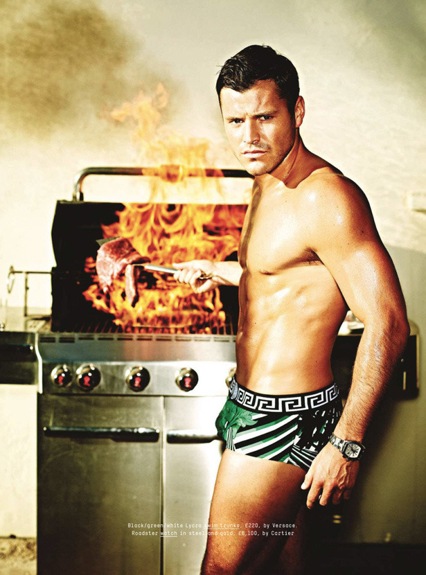 Mark Wright by Tom Van Schelven for Esquire UK