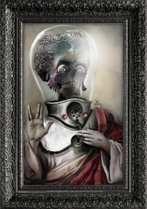vladrodriguez:  I believe in Mars Attacks! (((((Renaissance Painting in Sick Pop Culture))))))) Art by Pixeldomestiko  No shame in my enjoyment of this movie.