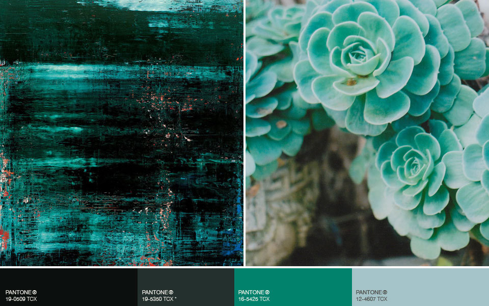Neo-Teal. Color Forecast Fall/Winter 2013